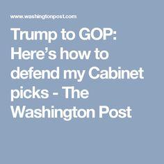 trump cabinet picks flouting ethics