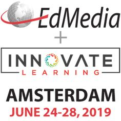 AACE and ISTE both happening at the same time! I'm going to Amsterdam, maybe I'll make ISTE next year! Educational Technology, Proposal, Conference, Amsterdam, Medical, Science, Learning, World, June