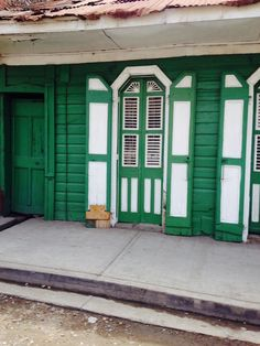 Haitian Architecture in Cap Haitien, Haiti