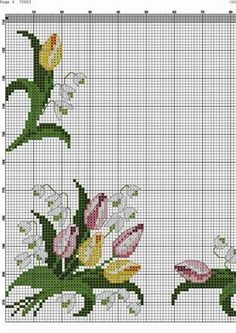 This Pin was discovered by Val Cross Stitch Fruit, Cross Stitch Boards, Cross Stitch Tree, Beaded Cross Stitch, Crochet Cross, Cross Stitch Flowers, Cross Stitch Embroidery, Cross Stitch Designs, Cross Stitch Patterns
