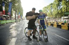 Paris Roubaix winner Mathew Hayman.