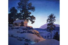 Maxfield Parrish: The Retrospective opens at the National Museum of American Illustration