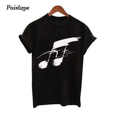 Cheap T-Shirts, Buy Directly from China Suppliers:Pairazoe Musical notes women's clothing fashion vogue black music t-shirts summer 2018 new femme manche courte short sleeves tee Enjoy ✓Free Shipping Worldwide! ✓Limited Time Sale✓Easy Return. Short Sleeve Tee, Short Sleeves, Cheap T Shirts, Musicals, Women's Clothing, Vogue, Notes, China, Fashion Outfits