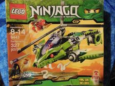 LEGO 9443 NINJAGO RATTLECOPTER BUILDING BLOCK TOY PLAYSET BRAND NEW IN BOX