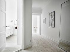 white minimalist decor all white home