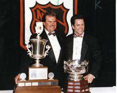 Coach Pat Burns & Doug Gilmour