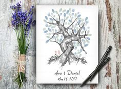 100% Hand Drawn Fingerprint Tree, Wedding Guestbook Tree, Alternative Wedding Guest Book, Wedding Keepsake, Hand Lettered Calligraphic Font #guestbooktree #guestbook #weddingguestbook #weddingguestbook #customguestbook #guestbookwedding #guestbooks #weddingtree #weddingtreeprint #fingerprinttree #treeguestbook #treeoflife #weddingposter Wedding Tree Guest Book, Guest Book Tree, Tree Wedding, Our Wedding, Fingerprint Wedding, Fingerprint Art, Wedding Posters, Wedding Guest Book Alternatives, Wedding Keepsakes