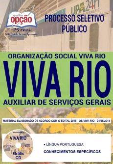 Acesse Agora A Apostila Concurso Viva Rio Auxiliar De Servicos