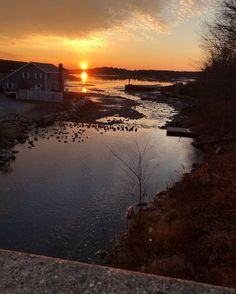 Blue Hill Bay, November a. New England States, Blue Hill, Old Glory, Beautiful World, Sunsets, Maine, Sunrise, November, Outdoor