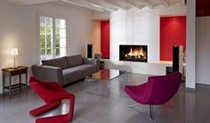 Der Name Rüegg steht europaweit für innovative, formschöne Kamine modernster zeitloser Bauweise.  #DesignKamin #KamineMagic #Fireplace