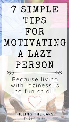 Once you get a handle on your own lazy tendencies by learning how to stop being lazy, the next hurdle you sometimes have to face is how to deal with a lazy person at home. Let's talk about some 7 simple tips for how to motivate a lazy person. #inspiration #motivation #intentionalliving Self Motivation Quotes, Life Motivation, Lazy Quotes, Stop Being Lazy, Ego Tripping, Lazy Person, Positive Phrases, New Opportunities, Bite Size