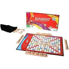 Parker Brothers Scrabble Board Game