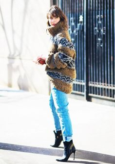 whowhatwear: Staying comfortable while looking chic IS...