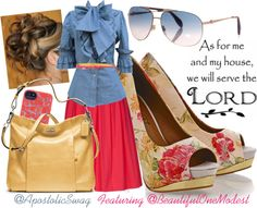 """""""We Will Serve The Lord"""" by apostolicswag on Polyvore"""