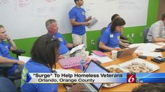 Volunteers start 'Surge' to help homeless vets in Orlando | News  - Home