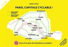 Plano cicloviario de Paris