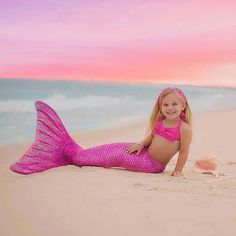 On Wednesdays we wear pink.. and even the sky decides to join us. #FinFun#Mermaid#MermaidTail