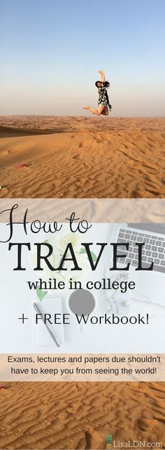 Don't let exams and Professors keep you from exploring the world! Here's the ultimate guide to traveling as a student!
