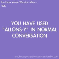 wa-ell...it IS normal conversation :)