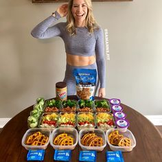 Healthy Meal Prep, Healthy Snacks, Healthy Eating, Healthy Recipes, Diet Recipes, Sunday Meal Prep, Meal Prep For The Week, Macro Meals, Bariatric Recipes