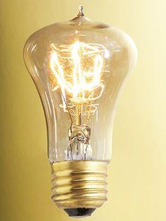 Centennial Vintage Style Medium Base Filament Bulb - 40W | House of Antique Hardware & Balafire Flicker