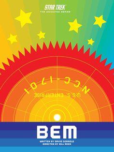 Cool Art: 'Star Trek: The Animated Series' E18 'BEM' by Juan Ortiz