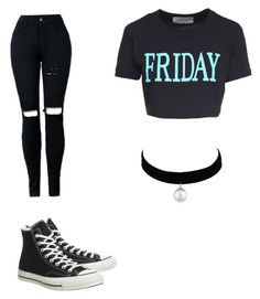 """""""Untitled #1"""" by martha-manzo ❤ liked on Polyvore featuring Alberta Ferretti and Converse"""
