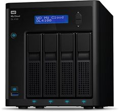 Western Digital Diskless My Cloud DL4100 Business Series NAS Festplatte - LAN - WDBNEZ0000NBK-EESN