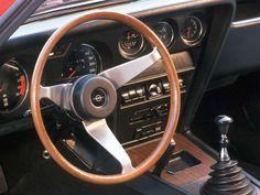 1970 Opel GT interior