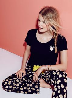 #FlowerPower   Miiyu Miss Daisy Pyjama Pant. #sleepwear #simons #comfort