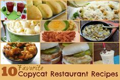 10 Favorite Copycat Restaurant Recipes