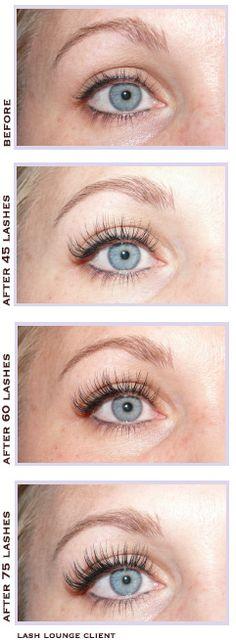 Lash Lounge client - before and after! Eyelash Extensions Before And After, What Are Eyelash Extensions, Kiss Eyelashes, Natural Eyelashes, Hair Makeup, Eye Makeup, Makeup Stuff, Beauty Makeup Tips, Face Beauty