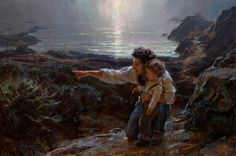 Gorgeous painting by Daniel Gerhartz... This man is amazing!
