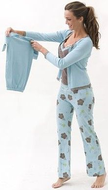 239a7fc21cae4 8 Best Maternity PJ set images in 2015 | Maternity Style, Pj sets ...