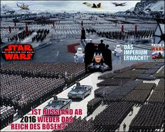 will be Russia once again the empire of evil in 2016 ???  media mix collage by Paul Maler