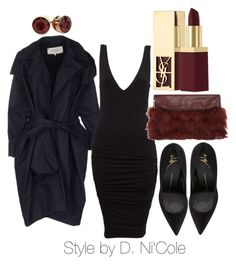"""""""Untitled #1858"""" by stylebydnicole ❤ liked on Polyvore featuring Rue Du Mail, Giuseppe Zanotti, Dorothy Perkins and Yves Saint Laurent"""
