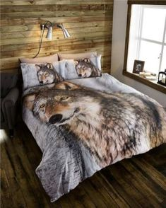Wolf Decor For Your Bedroom 12