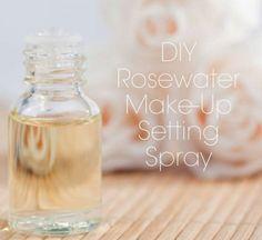 rosewater makeup setting spray