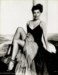 Two-Fisted Tales of True-Life Weird Romance!: Ava Gardner.