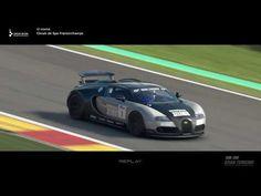 Gran Turismo™SPORT Bugatti Veyron on Circuit de Spa-Francorchamps Bugatti Veyron, Spa, Mc Laren, Lamborghini Lamborghini, Ferrari 458, Volkswagen, Circuit, Mclaren P1, Youtube
