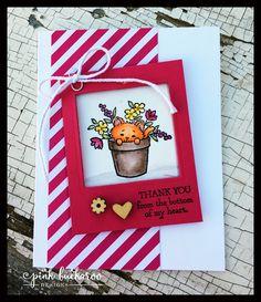 Pink Buckaroo Designs: Fancy Friday Blog Hop- Watercolor Pencils and Pretty Kitty
