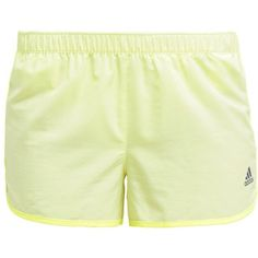adidas Performance INFINITE SERIES Sports shorts frozen/pearl grey ($32) ❤  liked on