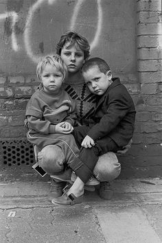Colin O'Brien: Travellers' Children in London Fields