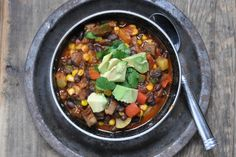 The Best Vegetarian Chili (Curated by BlogHer for Make Ahead Meal Recipes sponsored by BankAmericard Cash Rewards™ credit card)