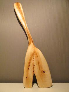 Unique wooden cake server, cupcake spoon, spatula, kitchen utensils, handmade, Polish brich wood