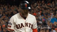 mlb baseball frustrated smh san francisco giants nlds pence sf giants hunter pence game 3 shaking my head not going your way trending #GIF on #Giphy via #IFTTT http://gph.is/2e5uZrh