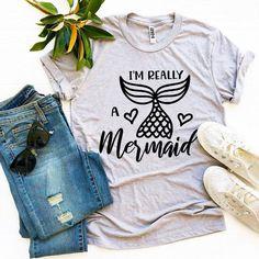 I'm Really a Mermaid T-shirt | Visionary Creation Co