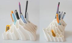 3D printed pencil holder among others
