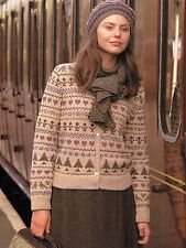 Kim Hargreaves Sampler Cardigan from  A Yorkshire Fable in Yorkshire Tweed 4 ply