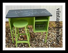 painted kids desk - Google Search